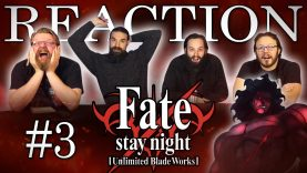 Fate/stay night: Unlimited Blade Works 03 Reaction