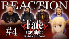 Fate/stay night: Unlimited Blade Works 04 Reaction