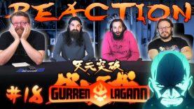 Gurren Lagann 18 Reaction