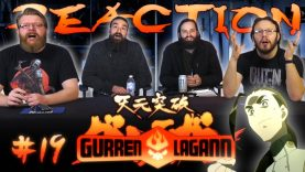 Gurren Lagann 19 Reaction