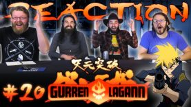 Gurren Lagann 20 Reaction