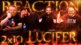 Lucifer 2×10 Reaction