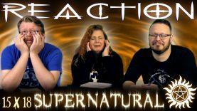 Supernatural 15×18 Reaction