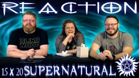Supernatural 15×20 Reaction