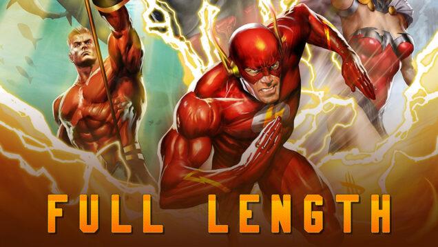 Justice League Flashpoint Paradox Reaction FL Thumbnail