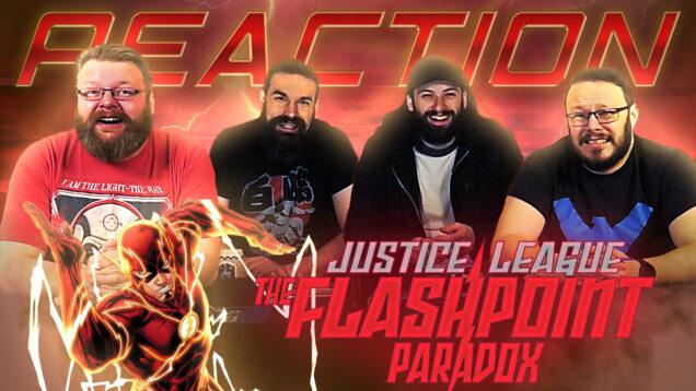 Justice League Flashpoint Paradox Reaction Thumbnail