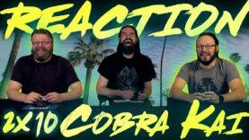 Cobra Kai 2×10 Reaction