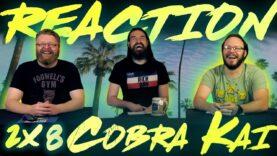 Cobra Kai 2×8 Reaction