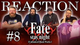 Fate/stay night: Unlimited Blade Works 08 Reaction