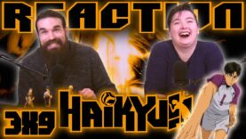 Haikyuu 3×9 Reaction