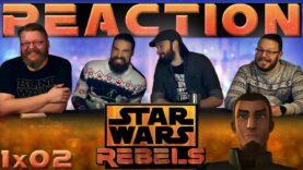 Star Wars Rebels Reaction 1×2
