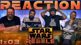 Star Wars Rebels Reaction 1×3