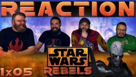 Star Wars Rebels Reaction 1×5