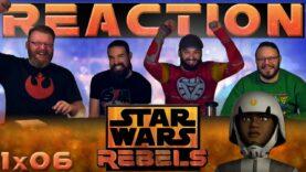 Star Wars Rebels Reaction 1×6