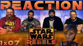Star Wars Rebels Reaction 1×7