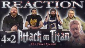 Attack on Titan 4×2 Reaction