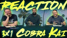 Cobra Kai 3×1 Reaction