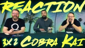 Cobra Kai 3×2 Reaction