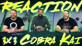 Cobra Kai 3×3 Reaction