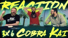 Cobra Kai 3×6 Reaction