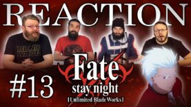 Fate/stay night: Unlimited Blade Works 13 Reaction
