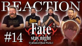 Fate/stay night: Unlimited Blade Works 14 Reaction