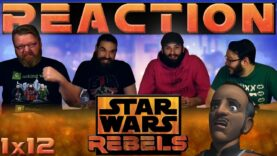 Star Wars Rebels Reaction 1×12