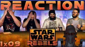 Star Wars Rebels Reaction 1×9