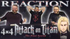 Attack on Titan 4×4 Reaction
