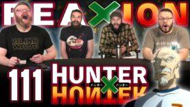 Hunter x Hunter 111 Reaction