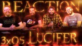Lucifer 3×5 Reaction