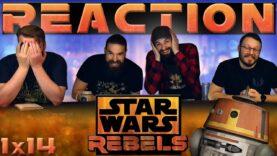 Star Wars Rebels Reaction 1×14