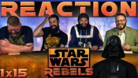 Star Wars Rebels Reaction 1×15