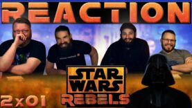 Star Wars Rebels Reaction 2×1
