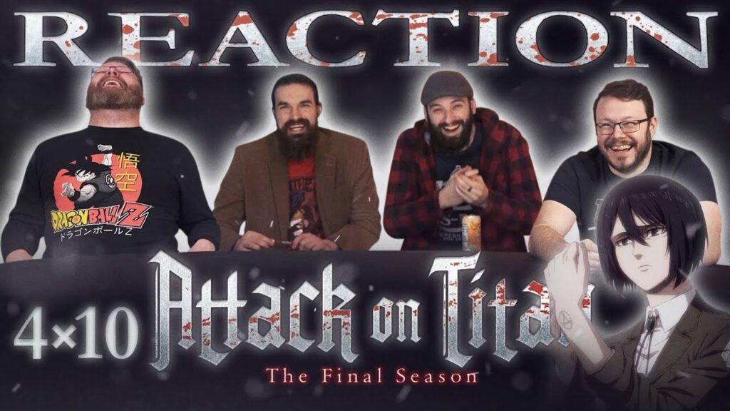 Attack on Titan 4×10 Reaction - Blind Wave