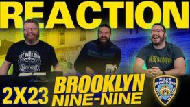 Brooklyn Nine-Nine 2×23 Reaction