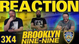 Brooklyn Nine-Nine 3×4 Reaction