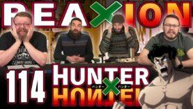 Hunter x Hunter 114 Reaction