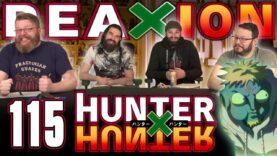 Hunter x Hunter 115 Reaction