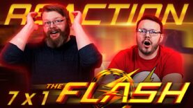 The Flash 7×1 Reaction
