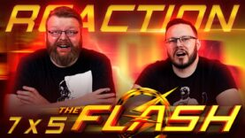 The Flash 7×5 Reaction