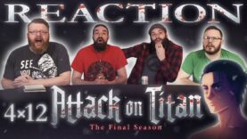 Attack on Titan 4×12 Reaction