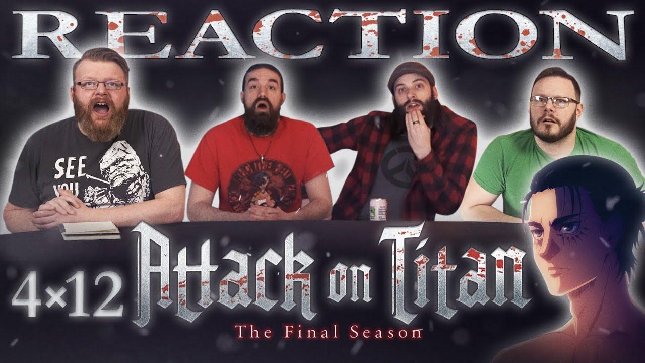Attack on Titan 4×12 Reaction - Blind Wave