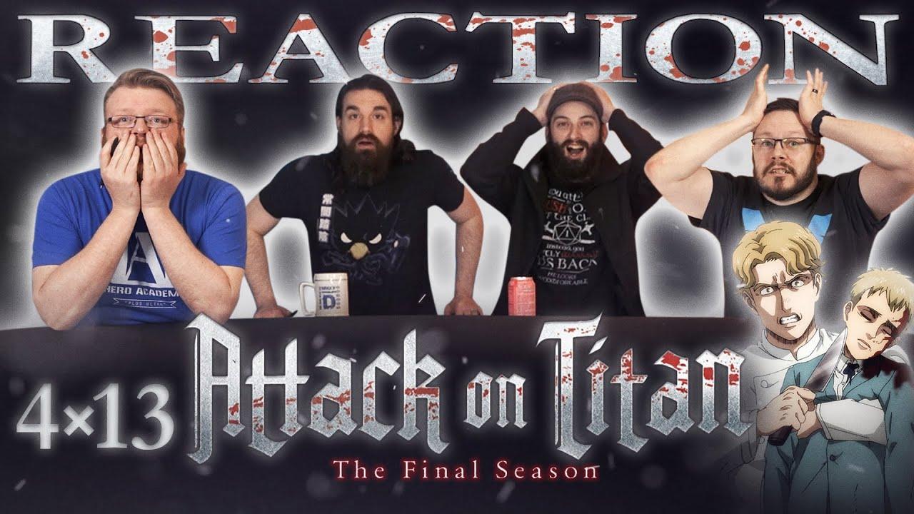 Attack on Titan 4×13 Reaction - Blind Wave