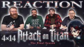 Attack on Titan 4×14 Reaction