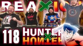 Hunter x Hunter 118 Reaction
