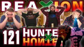 Hunter x Hunter 121 Reaction