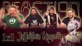 Jujutsu Kaisen 1×1 Reaction