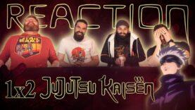 Jujutsu Kaisen 1×2 Reaction