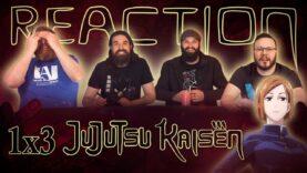 Jujutsu Kaisen 1×3 Reaction